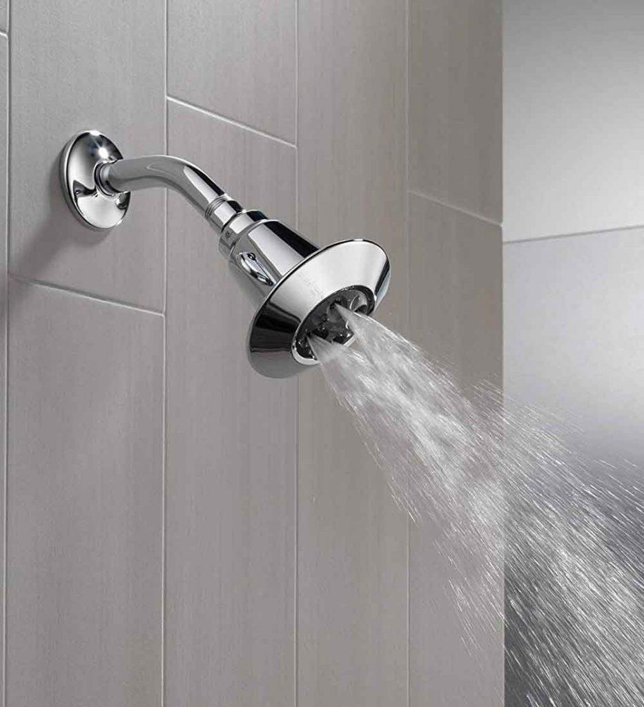 Delta 2-Spray Shower Head Water Review
