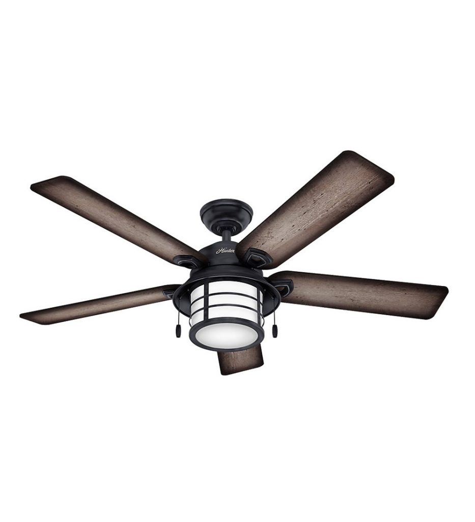 Hunter 59135 Key Biscayne Weathered Zinc Ceiling Fan review