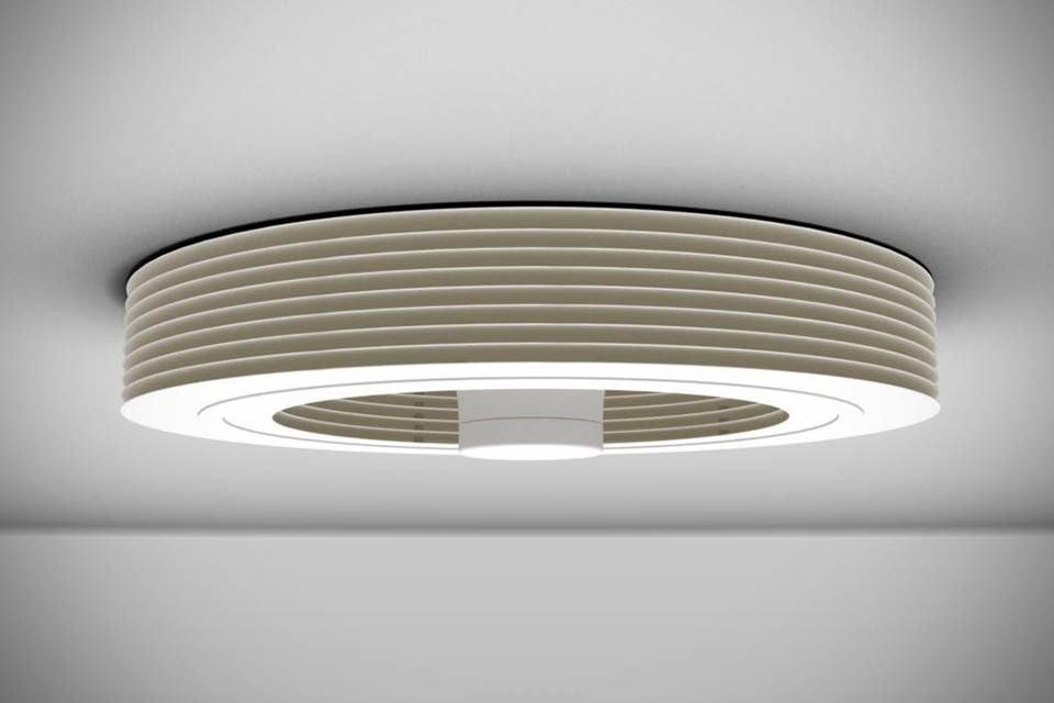The bladeless ceiling fan