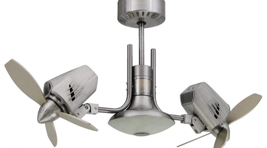 The dual-motor ceiling fan