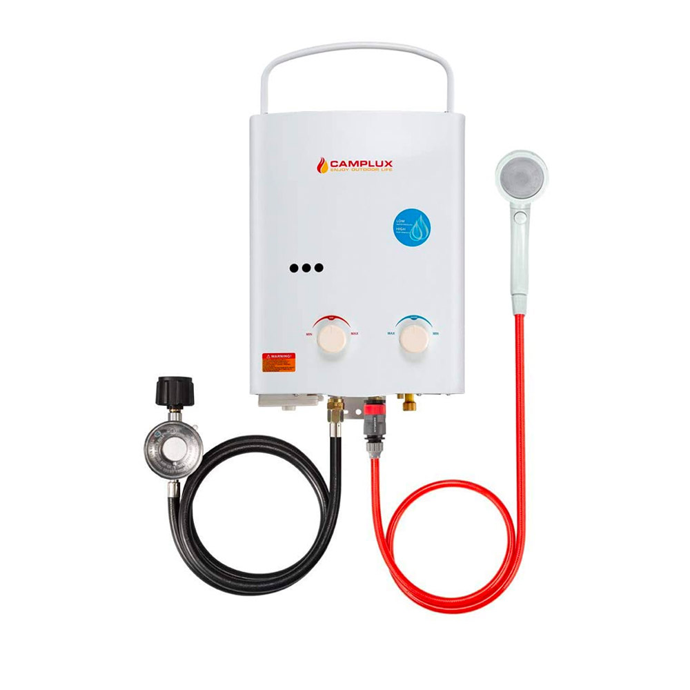 Camplux 5L 1.32 GPM Portable Tankless Water Heater