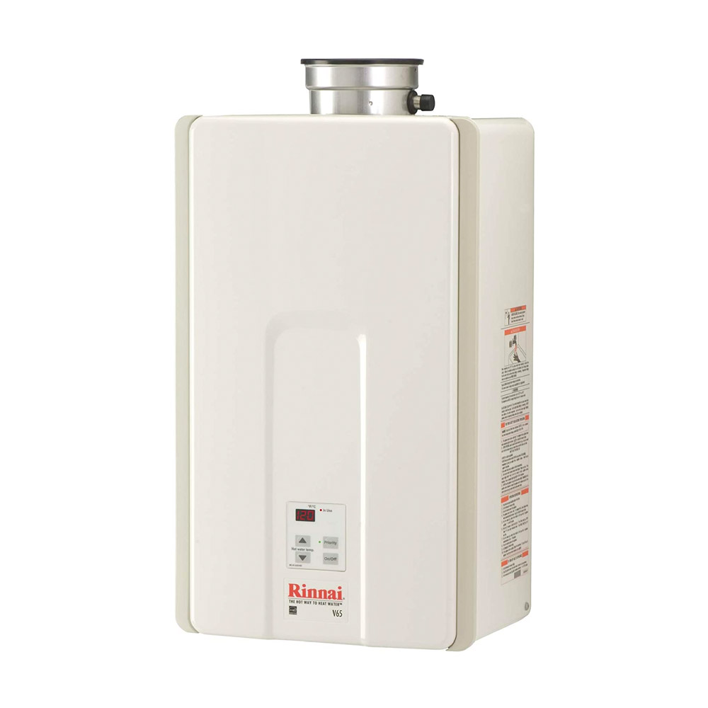 Rinnai V65iN High Efficiency Tankless Hot Water Heater