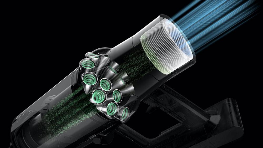 Dyson Vacuums Dynamic Load Sensor (DLS)