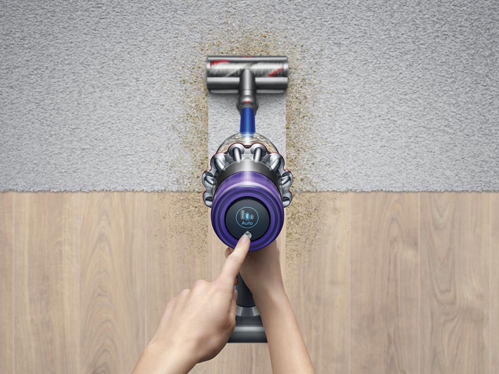 Dyson Vacuums LCD screen
