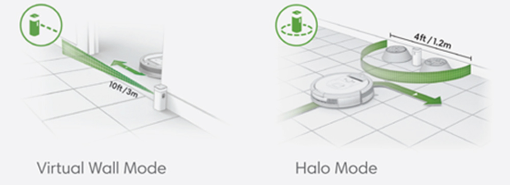 iRobot Roomba 614 Navigation & Control