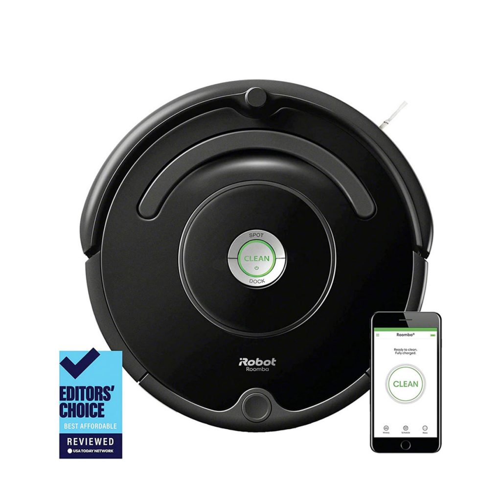 iRobot Roomba 675 Robot Vacuum Wi-Fi Connectivity